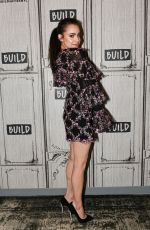 SOFIA CARSON at AOL Build in New York 04/01/2019