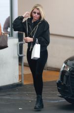 SOFIA RICHIE at a Dermatologist in Beverly Hills 04/11/2019