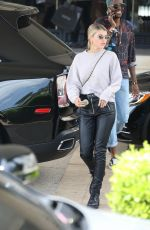 SOFIA RICHIE Leaves Barneys New York in Beverly Hills 04/16/2019