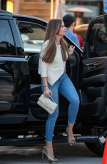 SOFIA VERGARA Arrives at a Sushi Restaurant in Los Angeles 04/06/2019