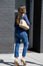 SOFIA VERGARA in Ripped Jeans Out in Los Angeles 04/23/2019