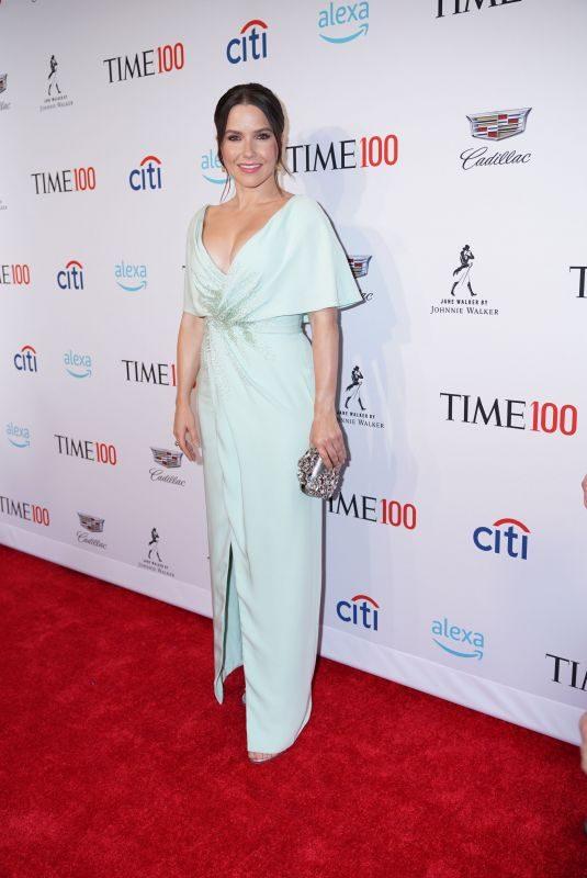 SOPHIA BUSH at Time 100 Gala in New York 04/23/2019