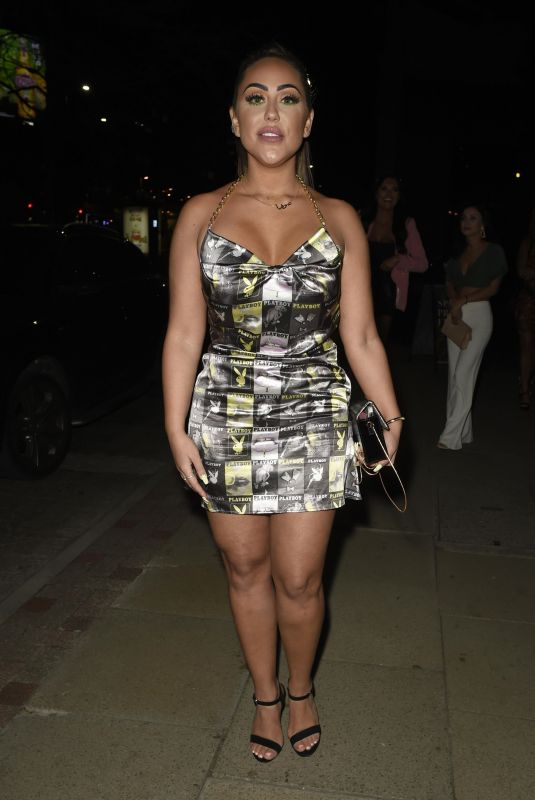 SOPHIE KASAEI Night Out in Manchester 04/13/2019