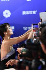 SOPHIE MARCEUA at 2019 Beijing International Film Festival Opening 04/13/2019