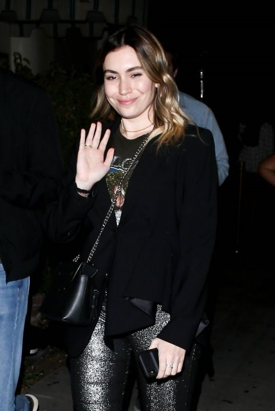 SOPHIE SIMMONS at Delilah in West Hollywood 04/06/2019