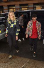 SOPHIE TURNER and Joe Jonas Out in New York 04/05/2019