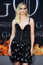 SOPHIE TURNER at Game of Thrones, Season 8 Premiere in New York 04/03/2019