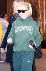 SOPHIE TURNER Out in New York 04/02/2019
