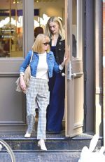 SOPHIE TURNER Out wuth Her Parents in New York 04/02/2019