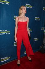 STEPHANIE MARCH at What the Constitution Means To Me Opening Night in New york 03/31/2019