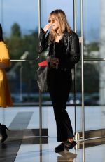 SUKI WATERHOUSE Leaves An Offices in Los Angeles 04/05/2019
