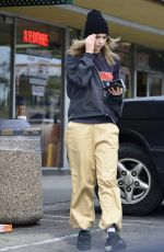 SUKI WATERHOUSE Leaves Whole Foods in West Hollywood 04/05/2019
