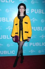 TALI LENNONX at The Public Premiere in New York 04/01/2019