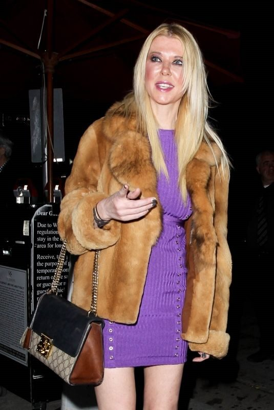 TARA REID at Craig's in West Hollywood 04/11/2019