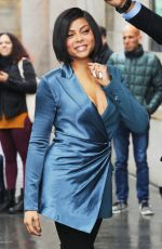 TARAJI P. HENSON Arrives at Variety Power of Women Luncheon in New York 04/05/2019
