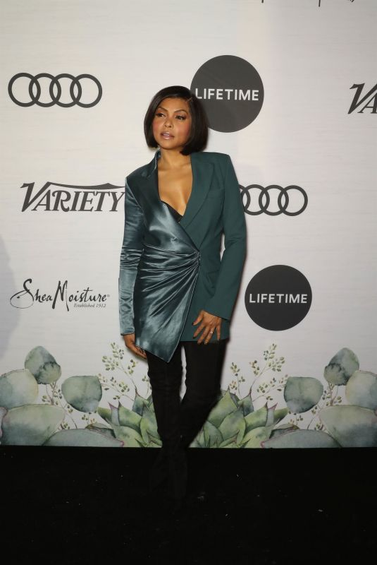 TARAJI P. HENSON at Variety's Power of Women Presented by Lifetime in New York 04/05/2019