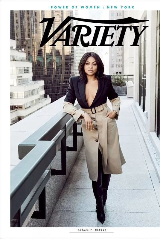 TARAJI P. HENSON for Variety Power of Women: New York Magazine, April 2019