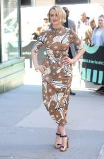 TAYLOR SCHILLING Arrives at Build Series Studio in New York 04/16/2019