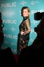 TAYLOR SCHILLING at The Public Premiere in New York 04/01/2019