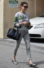 TERI HATCHER Out Shopping in Studio City 04/04/2019