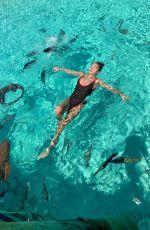 THYLANE BLONDEAU in Swimwear on Vacation in Bahamas 04/01/2019