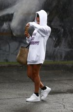 THYLANE BLONDEAU Out and About in Miami 04/10/2019