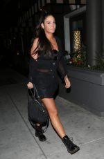 TULISA CONTOSTAVLOS Night Out in Los Angeles 04/11/2019