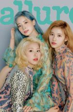 TWICE in Allure Magazine, May 2019
