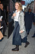 UMA THURMAN Arrives at Chambers Premiere in New York 04/15/2019
