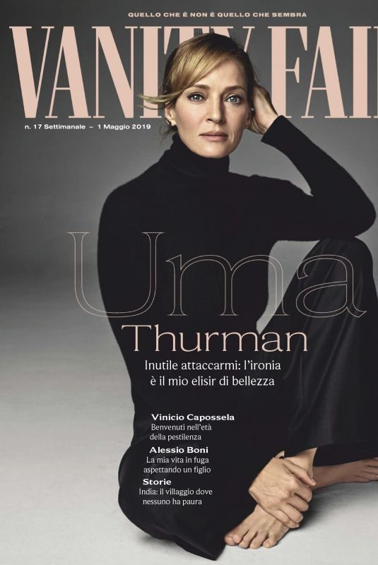 UMA THURMAN in Vanity Fair, Italy May 2019