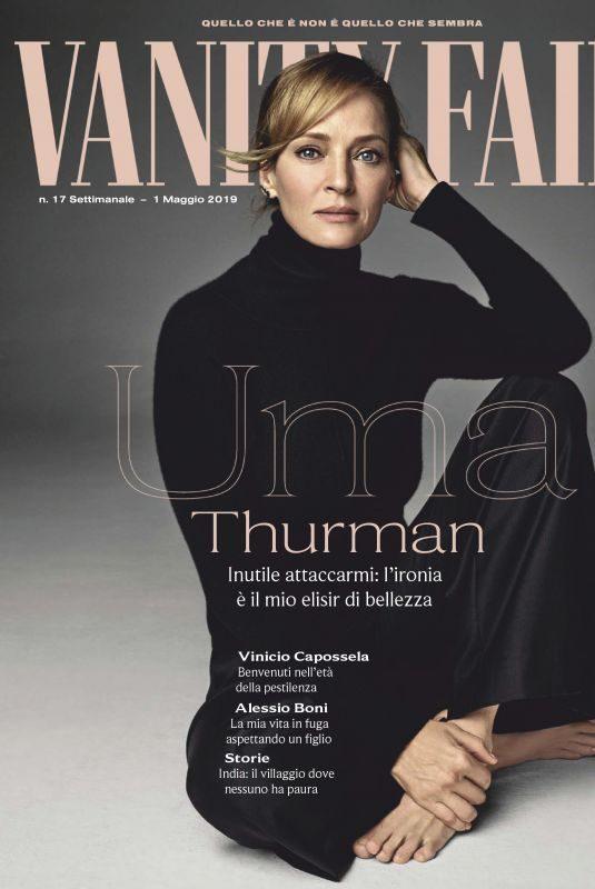 UMA THURMAN in Vanity Fair, Italy May 2019