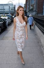 UNA HEALY Arrives at Hibernian Club in Dublin 04/02/2019