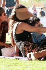 VANESSA HUDGENS and Austin Butler at Coachella in Indio 04 ...