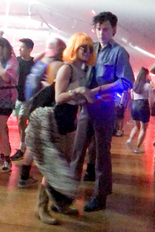 VANESSA HUDGENS and Austin Butler at Coachella Valley Festival 04/14/2019