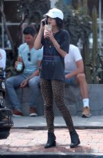 VANESSA HUDGENS Out and About in West Hollywood 04/01/2019