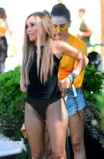 VANESSA MORGAN at Coachella Valley Music and Arts Festival 04/13/2019