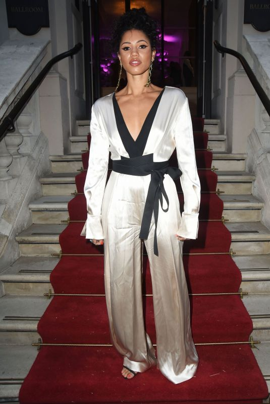 VICK HOPE at Football for Peace Global Gift Initiative Dinner in London 04/08/2019