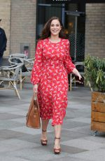 VICKY PATTISON Out and About in London 04/24/2019