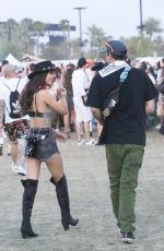 VICTORIA JUSTICE and Reeve Carney Out at Coachella 04/13/2019