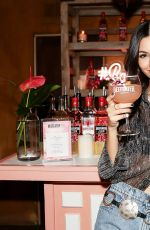 VICTORIA JUSTICE at Beefeater Pink Gin Lounge Party in Los Angeles 04/11/2019