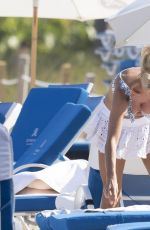 VICTORIA SILVSTEDT on the Beach in St Barts 04/01/2019