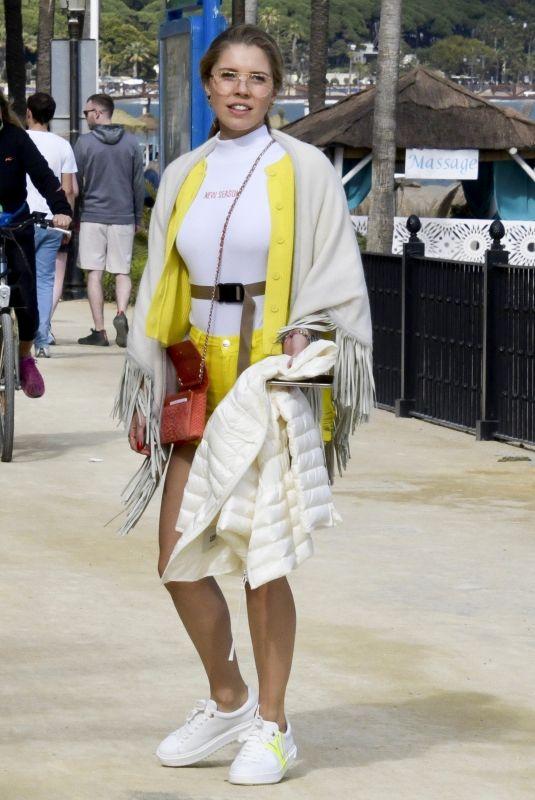 VICTORIA SWAROVSKI on Vacation in Marbella 04/19/2019
