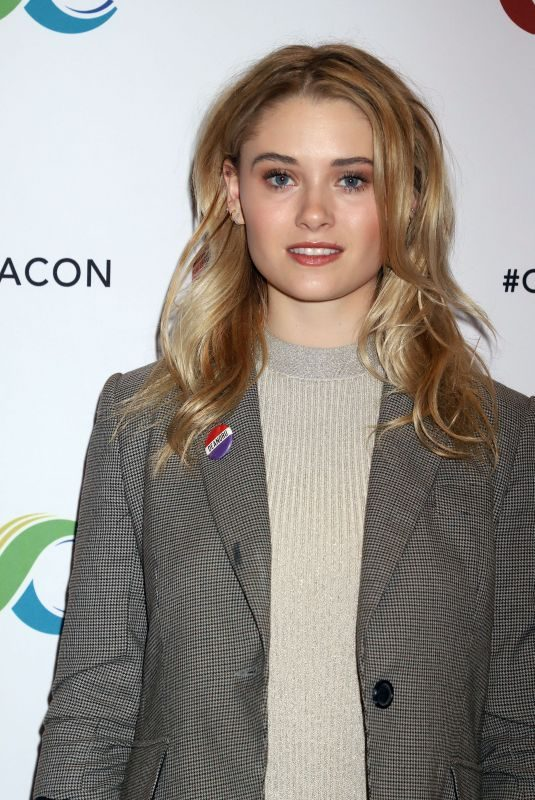 VIRGINIA GARDNER at Clexacon at Tropicana Hotel & Casino in Las Vegas 04/13/2019