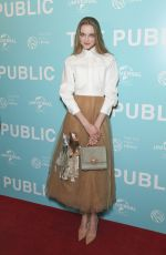 VLADA ROSLYAKOVA at The Public Premiere in New York 04/01/2019
