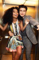 YARA SHAHIDI and Charles Melton in Cosmopolitan Magazine, May 2019