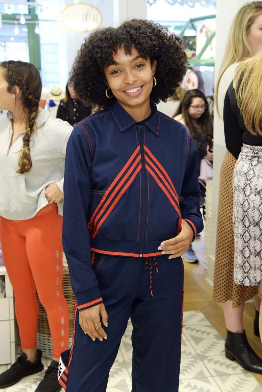 YARA SHAHIDI at Aerie x Aly Raisman Collection Launch in New York 04/06/2019