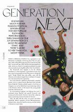 YARA SHAHIDI in Elle Magazine, Australia May 2019