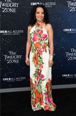 ZABRYNA GUEVARA at The Twilight Zone Premiere in Hollywood 03/26/2019