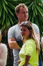 ZARA HOLLAND and Elliot Love Arrives in Barbados 04/05/2019