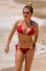 ZARA HOLLAND in Bikini at a Beach in Barbados 04/09/2019